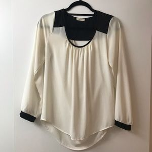 EVERLY blouse with back detail